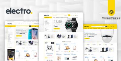 Electro Electronics Store WooCommerce Wordpress Theme