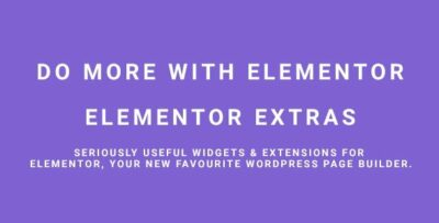 Elementor Extras Wordpress Plugin For Elementor