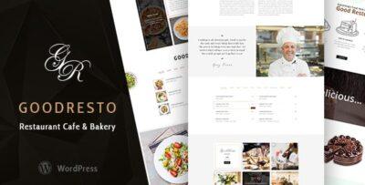 GoodResto Restaurant WooCommerce Theme