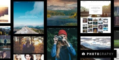 Photography Responsive Photography Theme