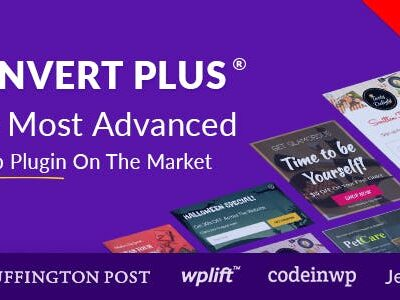 Popup Plugin For WordPress ConvertPlus