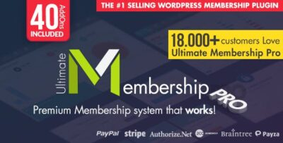 Ultimate Memberships Pro Wordpress Plugin