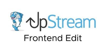 UpStream Frontend Edit Extension
