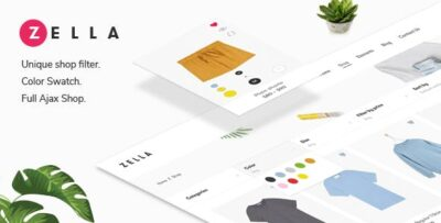 Zella WooCommerce AJAX WordPress Theme