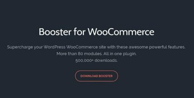 Booster Woocommerce Wordpress Plugin