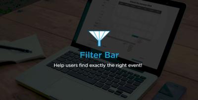 The Events Calendar Filter Bar