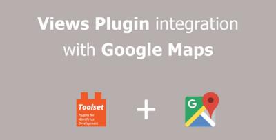 Toolset Google Maps Addon