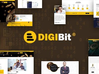 DigiBit Bitcoin Trading Theme