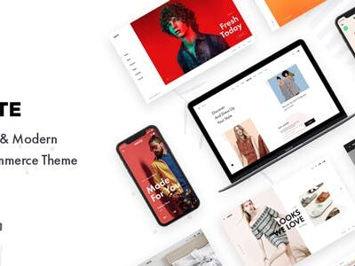 Konte Minimal & Modern WooCommerce WordPress Theme