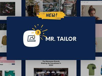 Mr. Tailor WooCommerce Theme