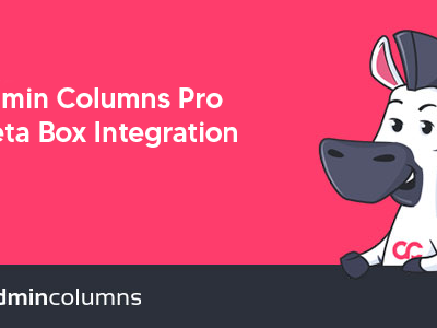 Admin Columns Pro – Meta Box Integration