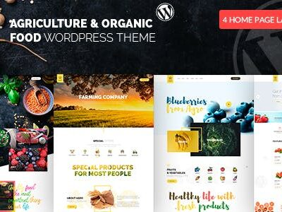 Agro Organic Food & Agriculture Theme