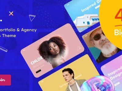Billey Creative Portfolio & Agency WordPress Theme