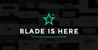 Blade Responsive Multi Functional WordPress Theme