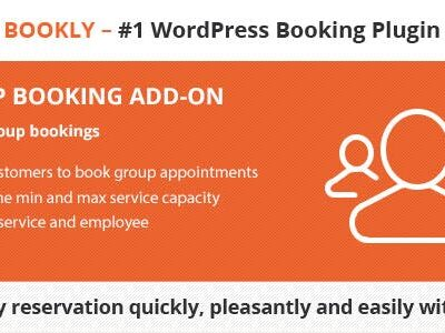 Bookly Group Booking (Add On)