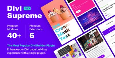 Divi Supreme Custom And Creative Divi Modules