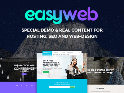 EasyWeb – WP Theme For Hosting, SEO And Web Design Agencies