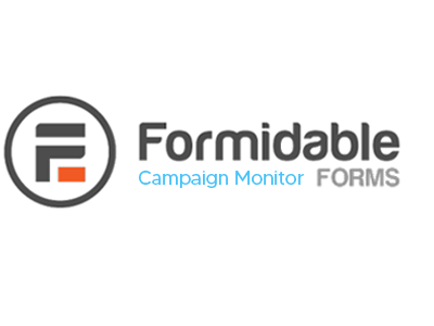 Formidable Forms Campaign Monitor Addon