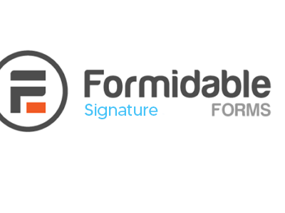 Formidable Forms Digital Signature Addon