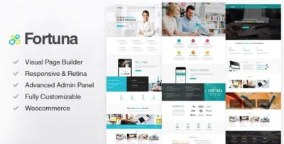 Fortuna Responsive Multi Purpose WordPress Theme