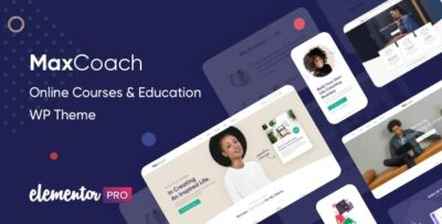 MaxCoach Online Courses & Education Theme