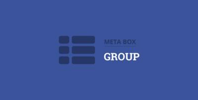 Meta Box Group Plugin