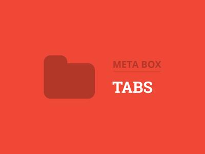 Meta Box Tabs Plugin