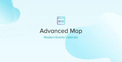 Modern Events Calendar Advanced Map