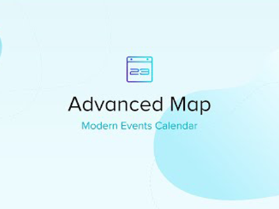 Modern Events Calendar Advanced Map