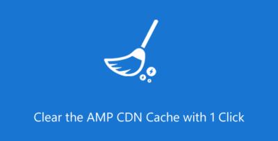 Purge AMP CDN Cache Extension