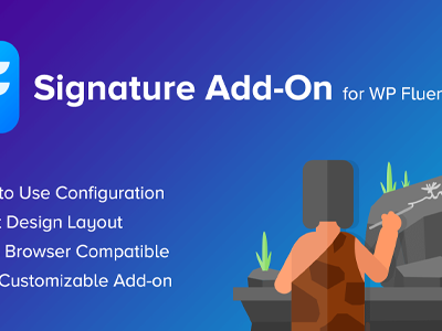 Signature AddOn For WP Fluent Forms