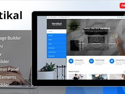 Vertikal Responsive WordPress Theme