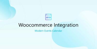 WooCommerce For Modern Events Calendar