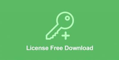 Easy Digital Downloads License Free Download Addon