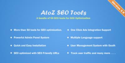 AtoZ SEO Tools Search Engine Optimization Tools