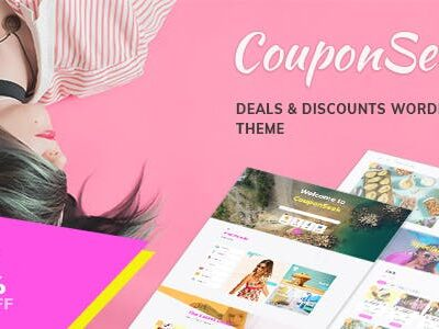 CouponSeek Deals & Discounts WordPress Theme