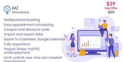 Fat Services Booking Plugin