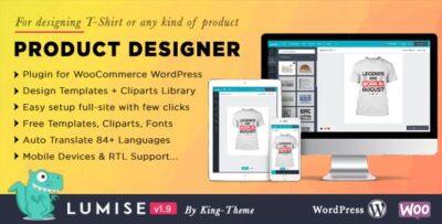 Lumise Product Designer For WooCommerce