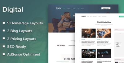 Mythemeshop Digital Wordpress Theme