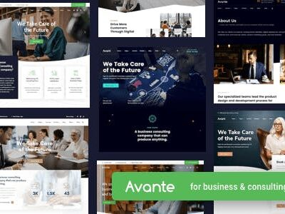 Avante Business Consulting WordPress