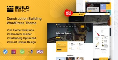 Construction Building WordPress Theme Buildbench