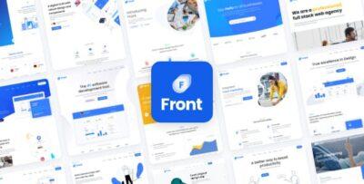 Front Multipurpose Business WordPress Theme