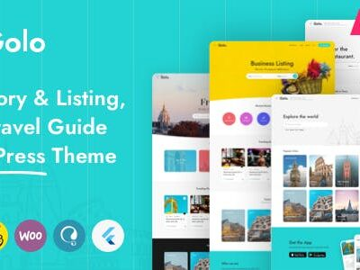 Golo Directory & Listing, City Travel Guide Theme