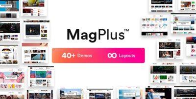 MagPlus Blog, Magazine Elementor WordPress Theme