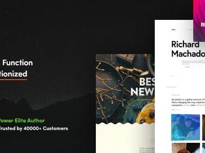 Revolution Creative Multipurpose WordPress Theme