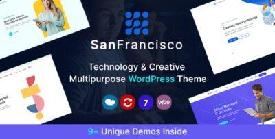 San Francisco IT Technology & Creative Theme