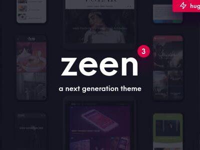 Zeen Next Generation Magazine WordPress Theme
