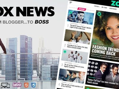 Zox News News & Magazine Theme