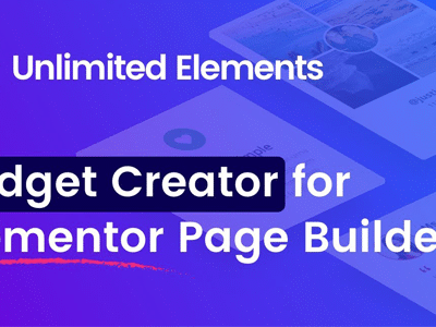 Unlimited Elements Elementor