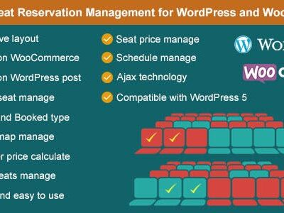Advance Seat Reservation Management For WooCommerce